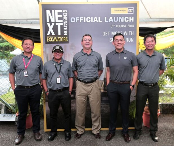 Sime Darby Industrial launches new Next Generation Cat Excavators