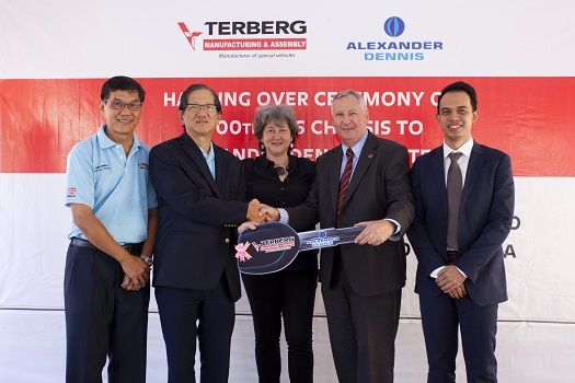 Sime Darby's Terberg Tractors Malaysia Celebrates 1,000th Alexander Dennis Unit