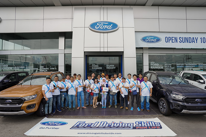 Ford Holds First-ever Driving Skills for Life Workshops in Sabah, East Malaysia to Promote Safe Driving Behaviour